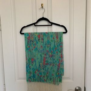 Lilly Pulitzer Pop Scarf - HOLY GRAIL